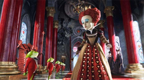 Alisa u zemlji čudesa (Alice in Wonderland), red. Tim Burton