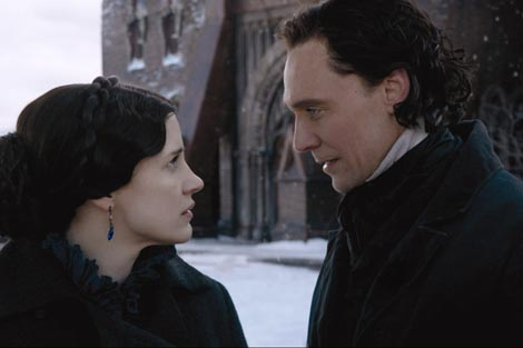 Crimson Peak, red. Guillermo del Toro