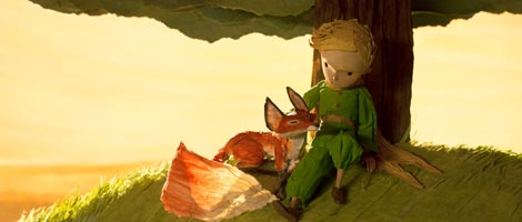 Mali princ (The Little Prince), red. Mark Osborne