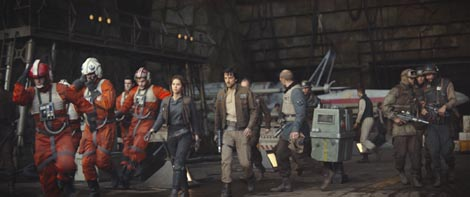 Rogue One – Priča iz Ratova Zvijezda (Rogue One: A Star Wars Story), red. Gareth Edwards
