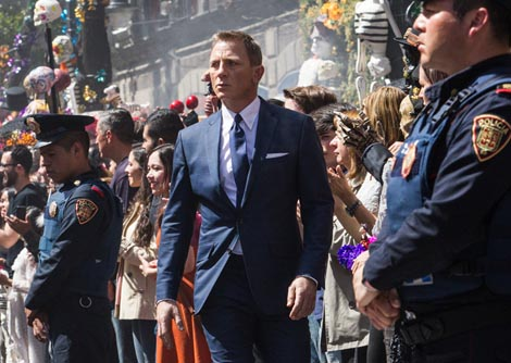 Spectre, red. Sam Mendes