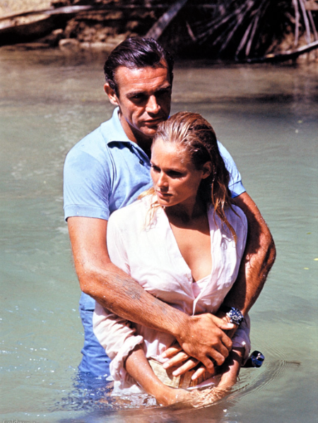 Sean Connery i Ursula Anders, <em>Dr. No</em>, 1962., red. Terence Young