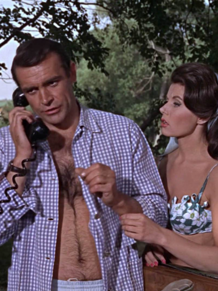 Sean Connery i Eunice Gayson, <em>Iz Rusije s ljubavlju</em> (<em>From Russia with Love</em>), 1963., red. Terence Young