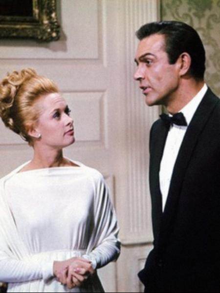 Sean Connery i Tippi Hedren, <em>Marnie</em>, 1964., red. Alfred Hitchcock